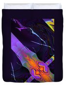 In The Colors Shadow Duvet Cover