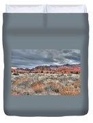 In The Desert Duvet Cover