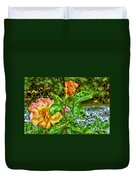 In The Garden Of Dreams Duvet Cover