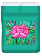 In The Garden Of Happiness Duvet Cover