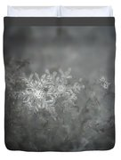 In The Garden Of The Snowflakes Duvet Cover
