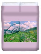 In The Greenhouse Duvet Cover
