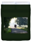 In The Heat Of The Day Duvet Cover