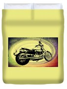 In The Vortex - Harley Davidson Duvet Cover