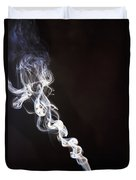 Incense Smoke Rising, New Zealand Duvet Cover