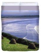 Inch Beach, Co Kerry, Ireland Duvet Cover