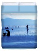 Inch Beach, Dingle Peninsula, County Duvet Cover