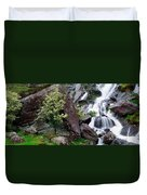 Inchquinn Waterfall, Beara Peninsula Duvet Cover