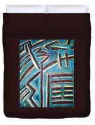 Increase - I Ching Duvet Cover