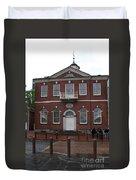 Independence Hall Philadelphia I Duvet Cover