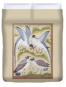 India: Pheasants Duvet Cover