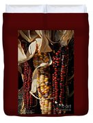 Indian Corn Duvet Cover by Susan Herber