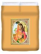 Indian Empress Duvet Cover