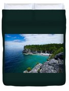 Indian Head Cove Duvet Cover