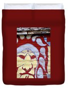 Indian House Duvet Cover