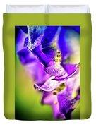 Indigo Flower Duvet Cover