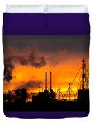Industrial Strength Sunset Duvet Cover