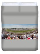 Indy 500  Race Day Duvet Cover