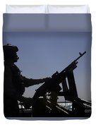 Information Systems Technician Manning Duvet Cover by Stocktrek Images