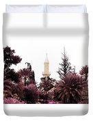 infrared Hala Sultan Tekke Duvet Cover