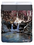Infrared Waterfall Duvet Cover