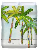 Inked Palms Duvet Cover