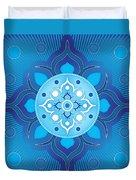 Inner Guidance - Blue Version Duvet Cover
