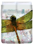 Insect Art - Voice Of The Heart Duvet Cover