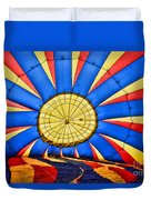 Inside A Hot Air Balloon Duvet Cover