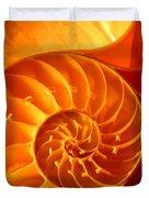 Inside A Shell Duvet Cover