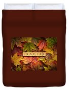 Inspire-autumn Duvet Cover
