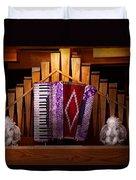 Instrument - Accordian - The Accordian Organ  Duvet Cover
