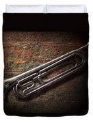 Instrument - Horn - The Bugle Duvet Cover