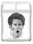 Intensity Lionel Messi Duvet Cover