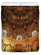 Interiors Of A Cathedral, St. Finbarrs Duvet Cover