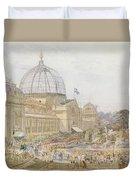 International Exhibition Duvet Cover by Edward Sheratt Cole