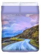 Into The Great Beyond Duvet Cover