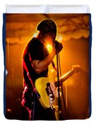 Into The Mic Duvet Cover