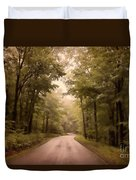 Into The Mists Duvet Cover