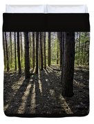 Into The Woods Spnc Michigan Duvet Cover