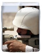Iraqi Army Sergeant Sights Duvet Cover