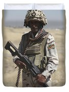 Iraqi Army Soldier Duvet Cover
