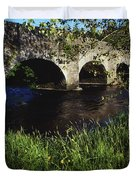 Ireland Bridge Over Water Duvet Cover