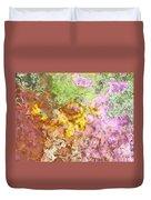 Iris Abstract I Duvet Cover