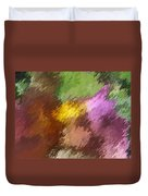 Iris Abstract II Duvet Cover