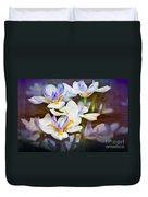 Iris Art Duvet Cover
