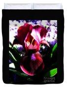 Iris Inner Beauty Duvet Cover
