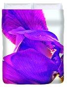Iris Surprise  Duvet Cover
