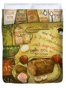 Irish Brown Bread Duvet Cover