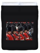 Irish Guards March Pass During The Last Duvet Cover